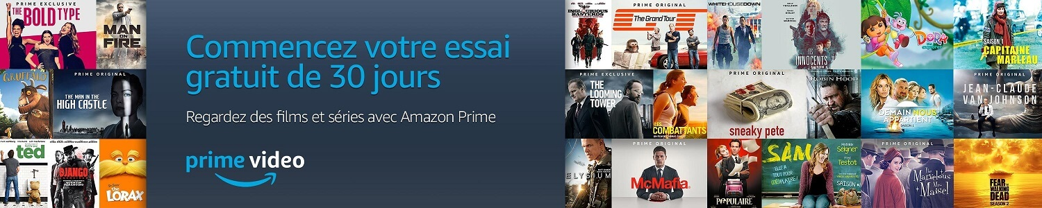 Amazon Prime Essai Gratuit - Prime Video
